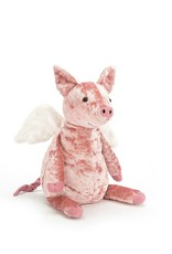 Jelly Cat Peluche Cochon volant