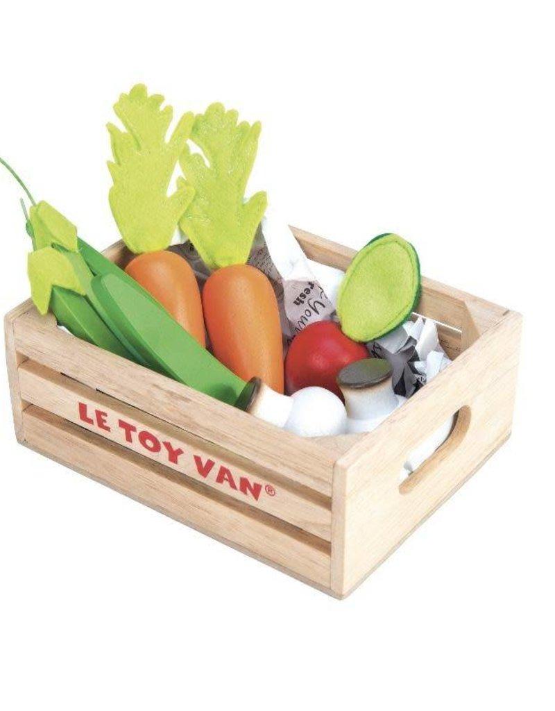 Le Toy Van Petit panier de légumes en bois