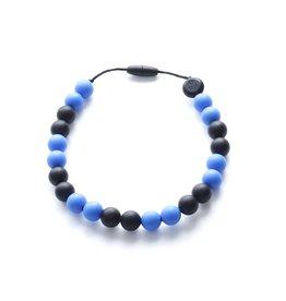 Bulle bijouterie Collier pour enfant - Mathis - Bleu et noir