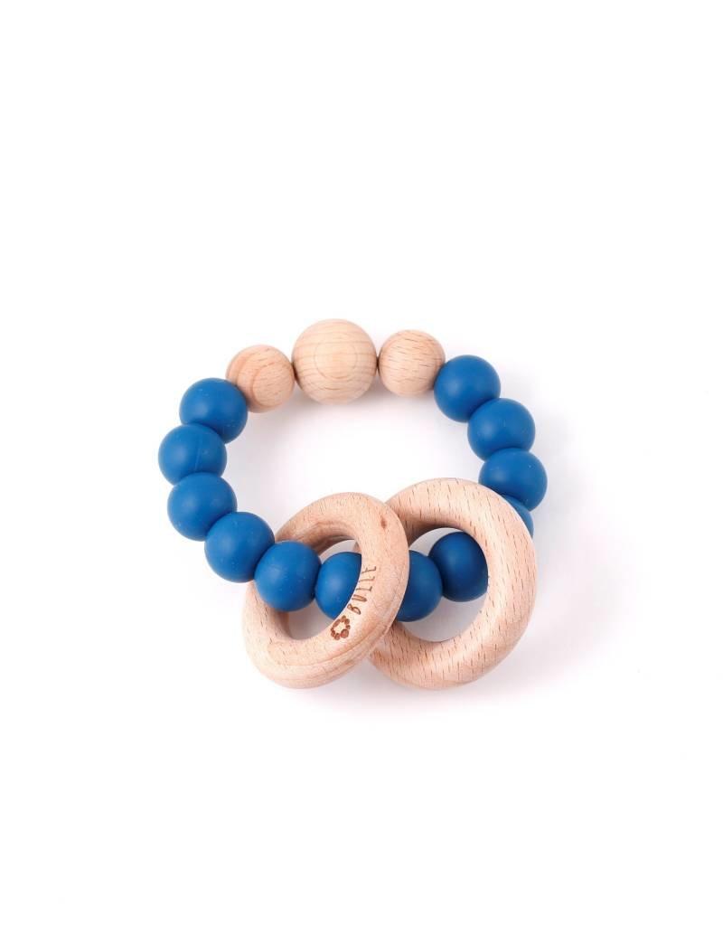 Bulle bijouterie Hochet Clic-clac - Bleu saphir