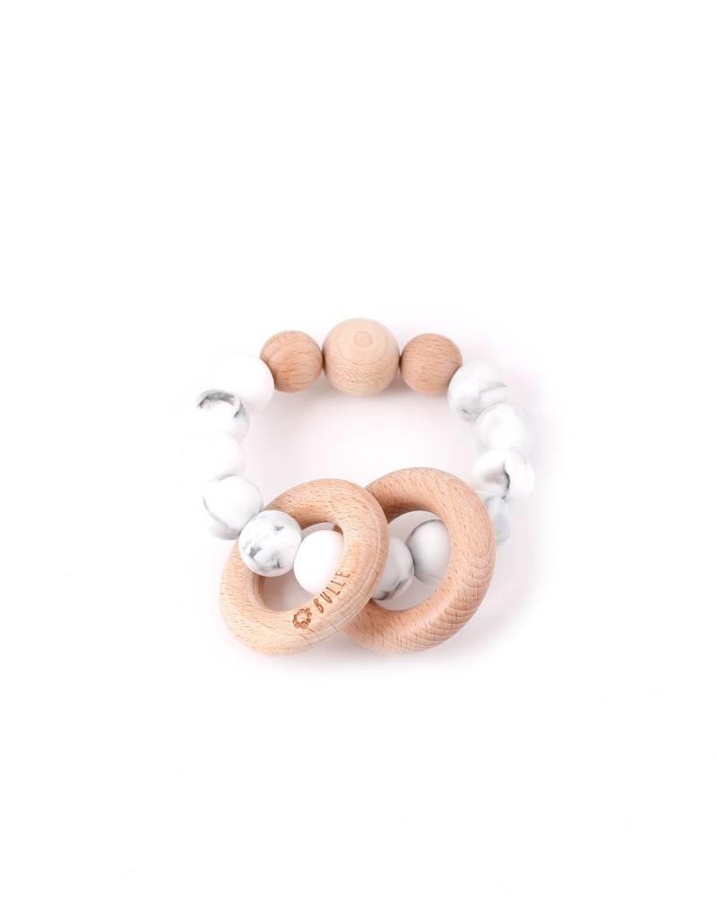 Bulle bijouterie Hochet Clic-clac - Marbre