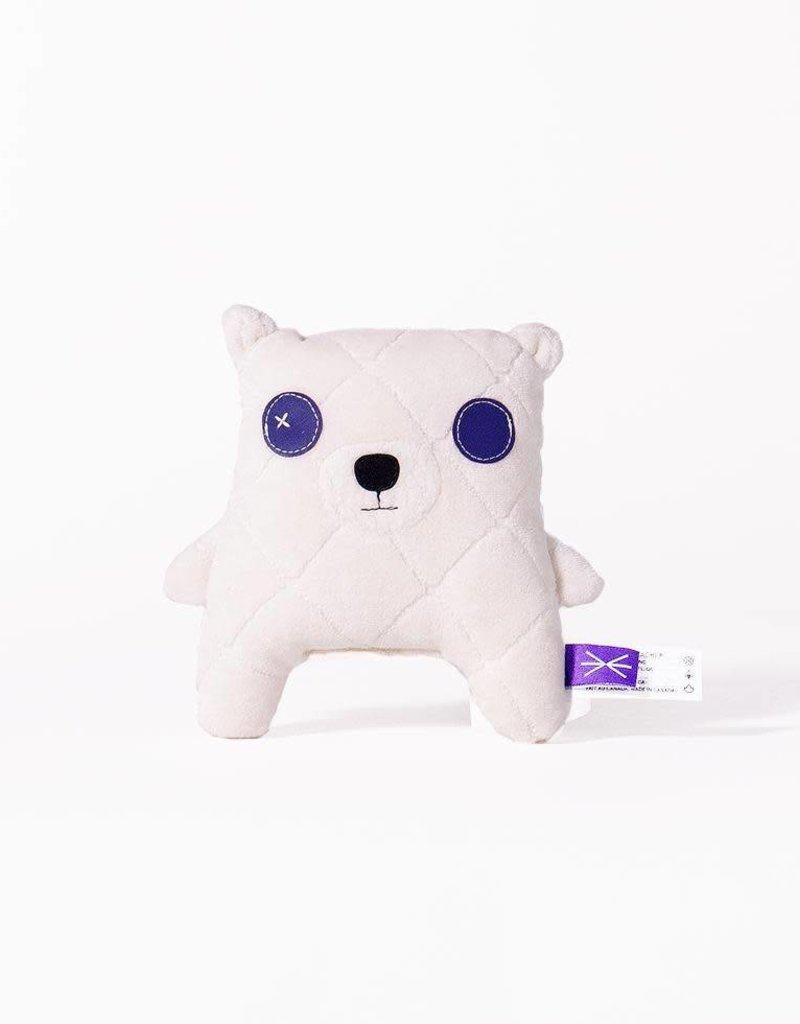 Velvet Moustache Bébé ours polaire