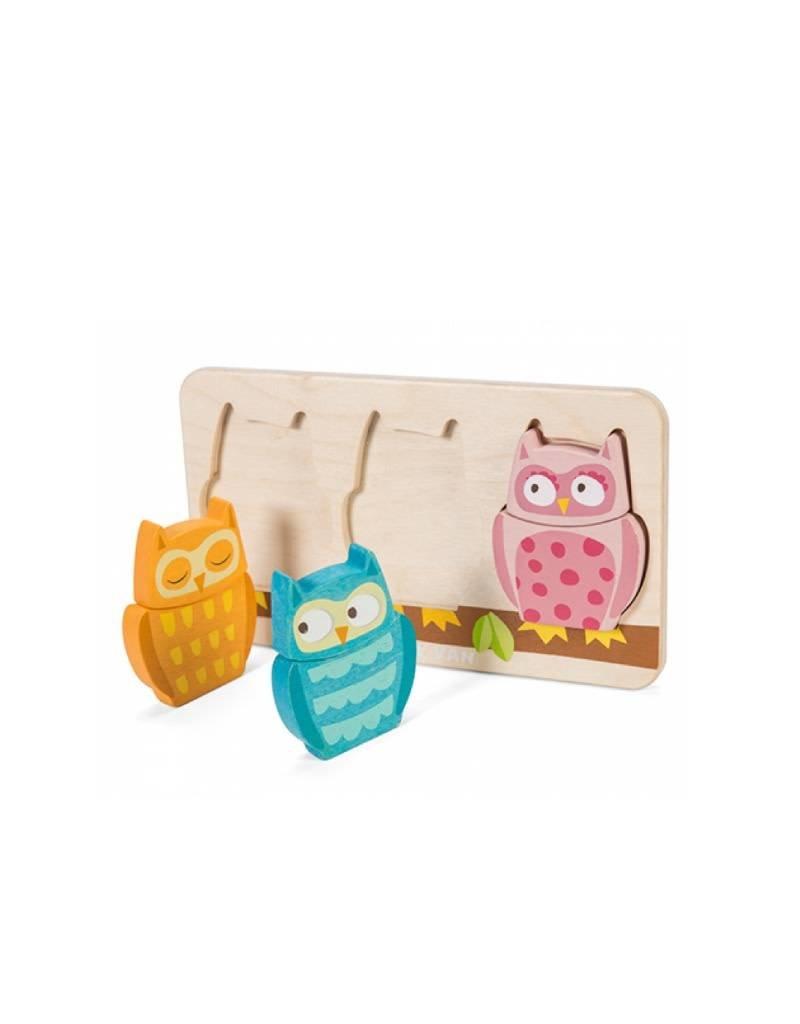 Le Toy Van Casse-tête Petites Chouettes