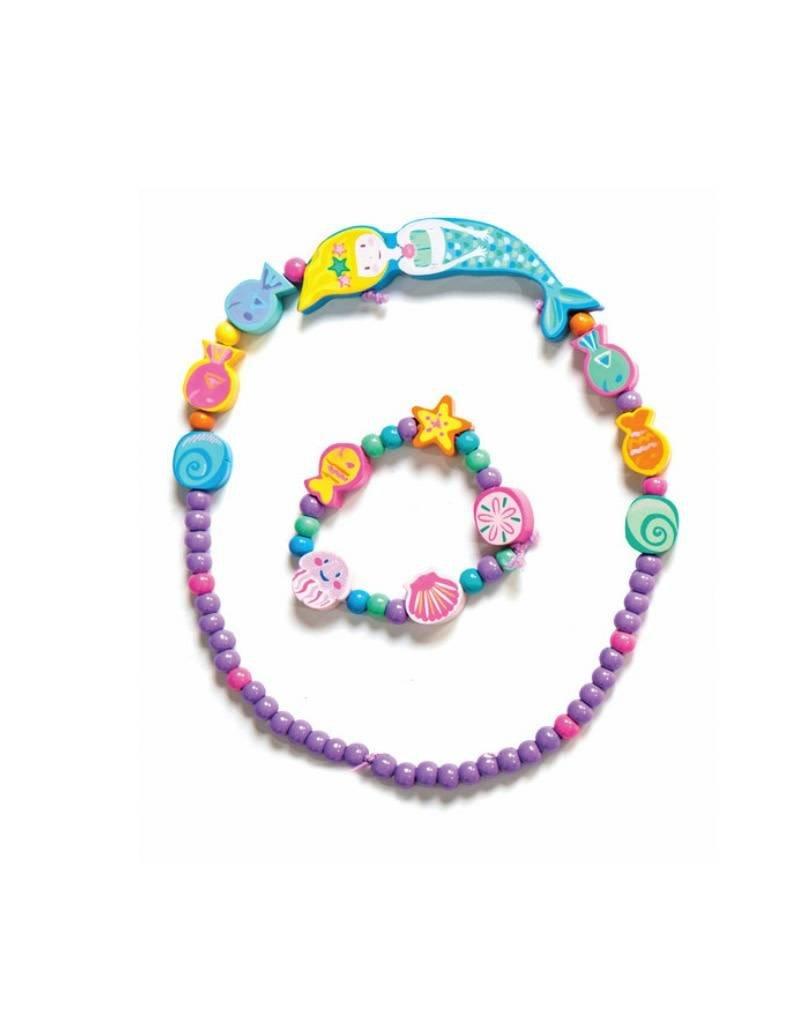 Le Toy Van Ensemble collier et bracelet - Sirène