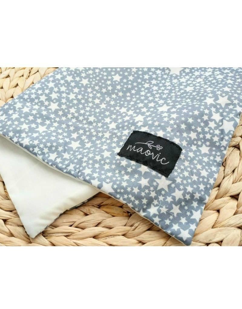 maovic Pillow for babies - Organic Buckwheat -stars