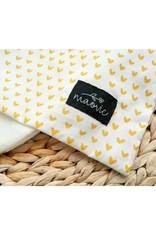 maovic Oreiller pour enfant - Écales de sarrasin - cœurs or