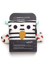 Raplapla Bébé Hibouillotte - Ligné noir et blanc