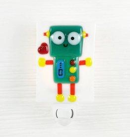Veille sur toi Pré-commande - Veilleuse robot - Vert