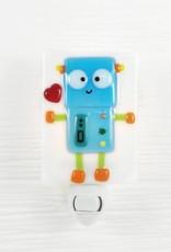 Veille sur toi Pré-commande - Veilleuse robot - Bleu ciel