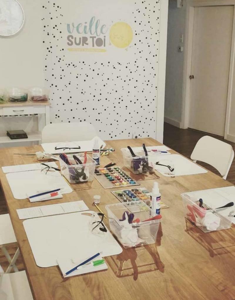 Veille sur toi Atelier créatif - Samedi 15 juin 13h à 15h30