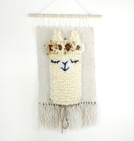 Sarah Wall decoration - Sleeping Llama