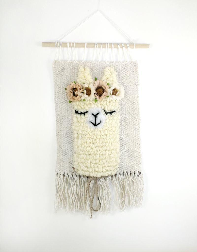 Wall decoration - Sleeping Llama