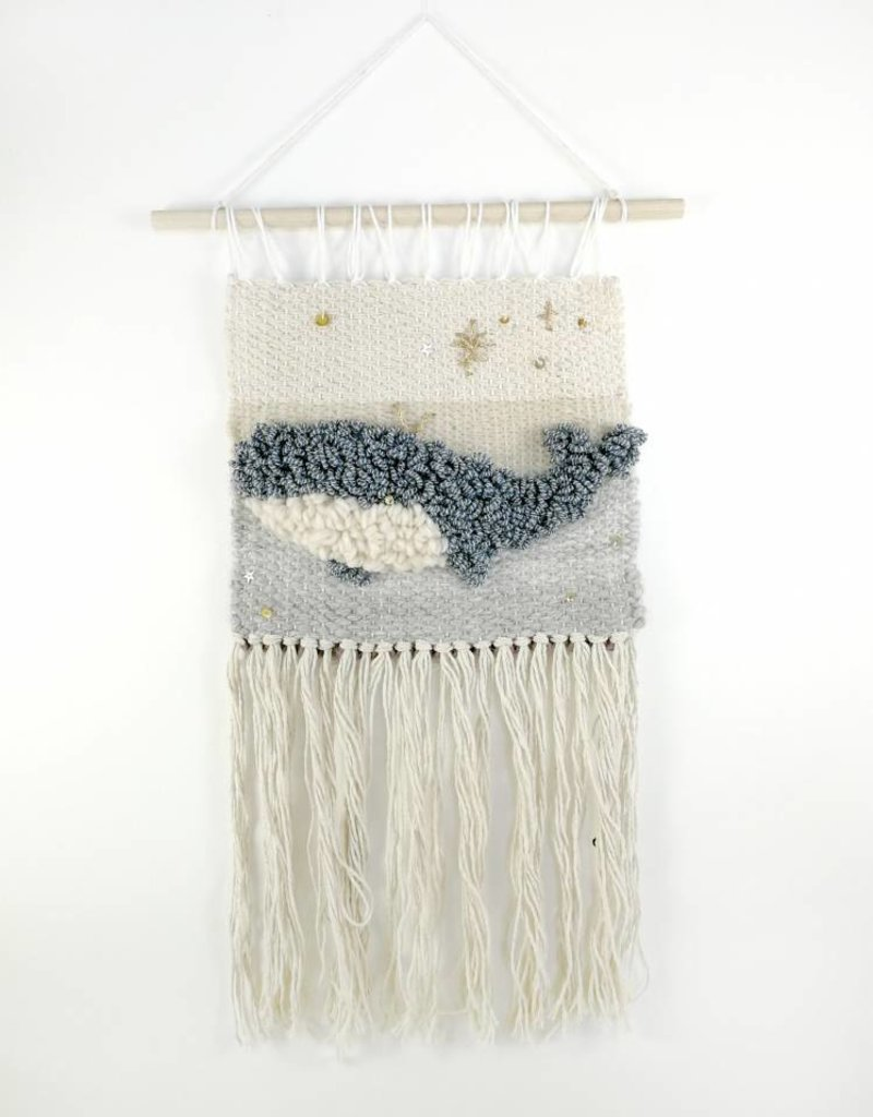 Sarah Wall decoration - Whale