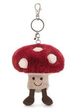 Jelly Cat Mushroom bag charm