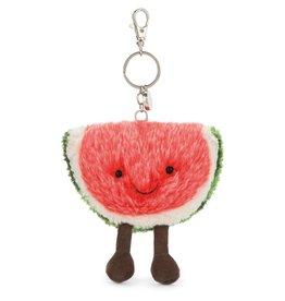 Jelly Cat watermelon bag charm