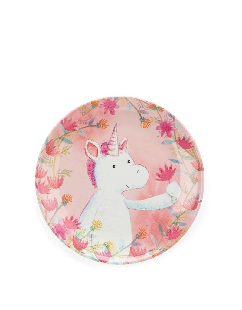 Jelly Cat Unicorn PLate