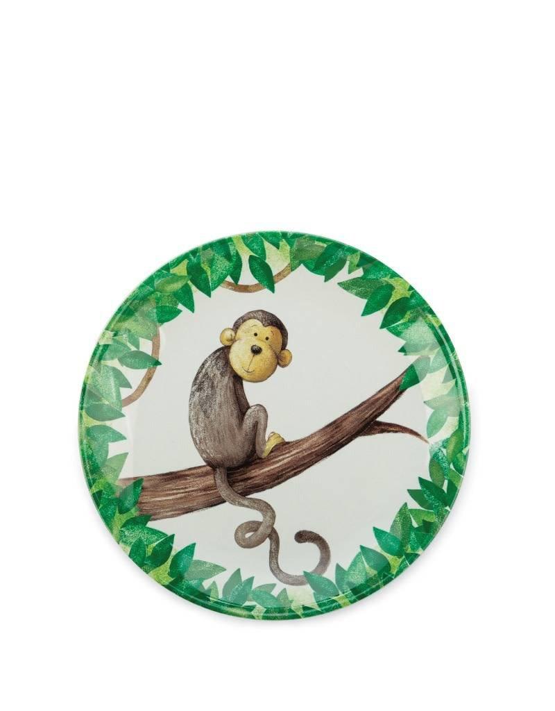 Jelly Cat Monkey Plate