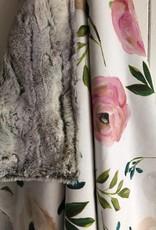 Les Petits Ziboo Couverture - Fleurs roses