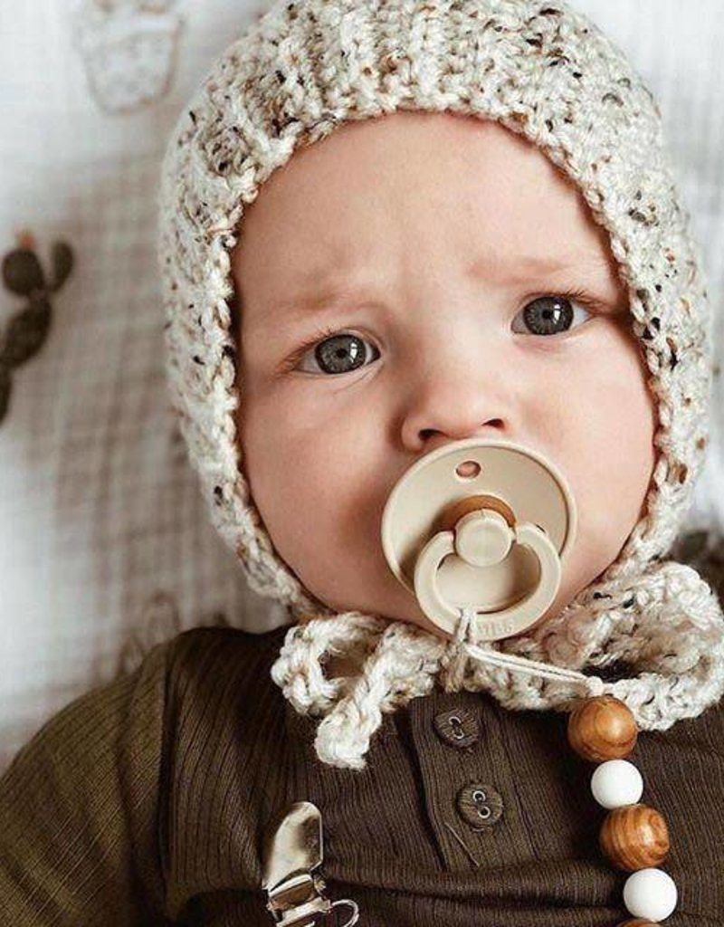 Bibs Suce pour bébé - Bleu marin