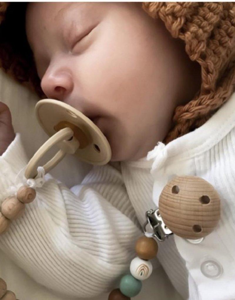 Bibs Suce pour bébé - Vert sauge