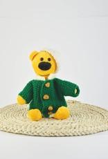 Fondation Marie-Vincent Marvin - Veste en laine verte et Chapeau beige