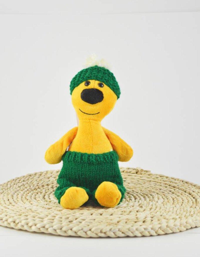 Fondation Marie-Vincent Marvin - Pantalon et bonnet de laine verte