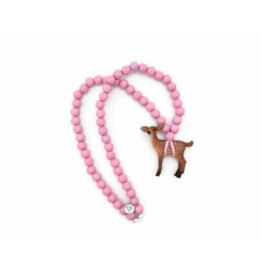 Wild Child Collier en bois rose - Faon