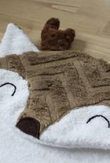 babilles et babioles Sortie de bain pour bébé - Cerf douillet- Petit