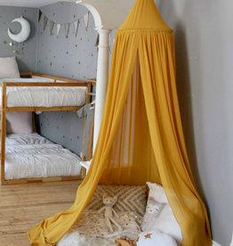 babilles et babioles Ciel de lit - Moutarde