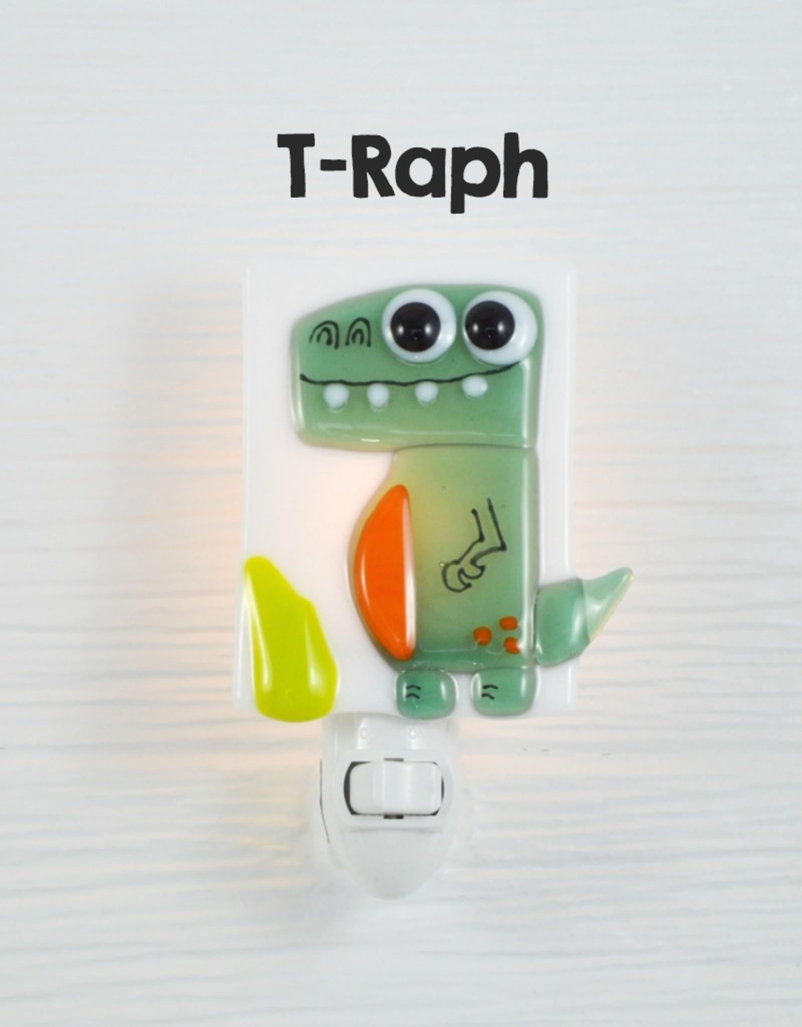 Veille sur toi Nightlight - Dinosaur - T-Raph