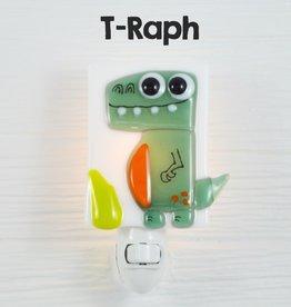 Veille sur toi Veilleuse - Dinosaure - T-Raph