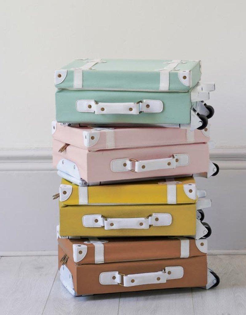 Olli Ella Valise pour enfant - Turquoise - Livraison incluse