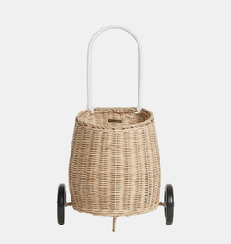 Olli Ella Wheeled rattan basket - Shipping included