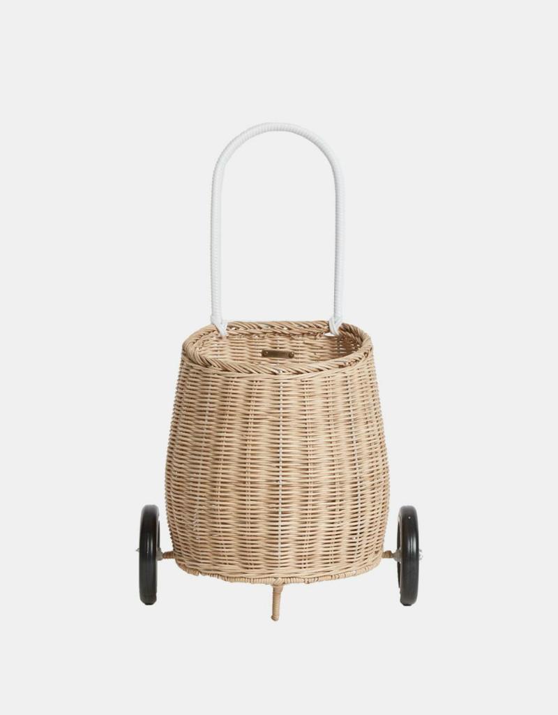 Olli Ella Wheeled rattan basket - Shipping included