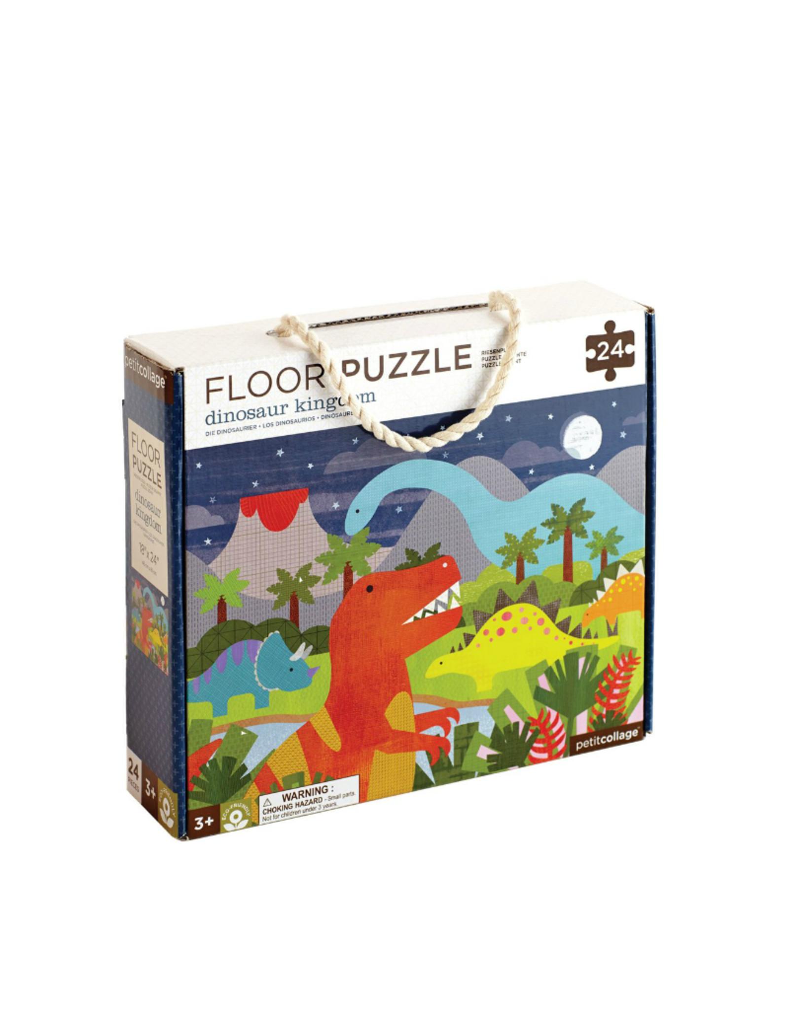 Petit Collage Floor puzzle - Dinosaurs 3+