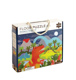 Petit Collage Floor puzzle - Dinosaurs 3+