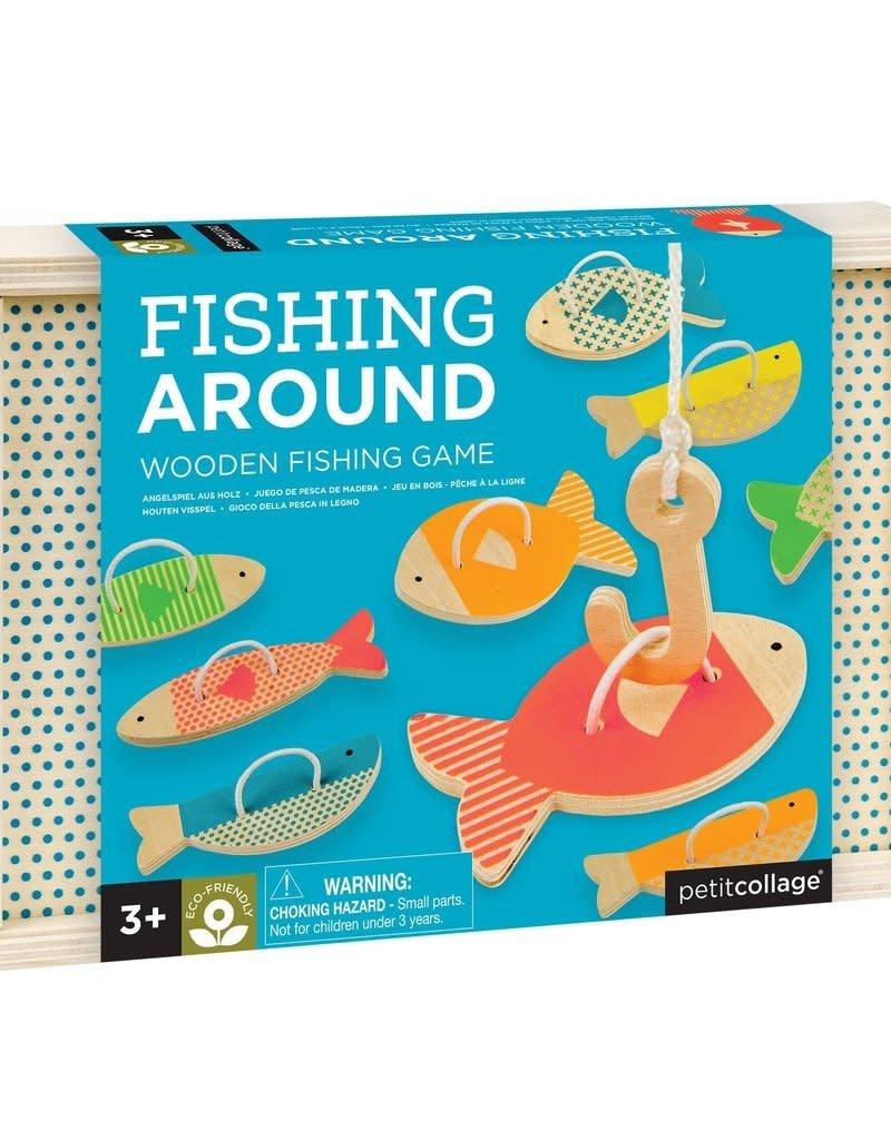 Petit Collage Fishing around - wooden game