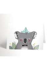 Valérie Boivin Illustrations greeting card - koala
