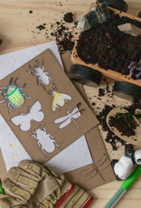 Atelier Rue Tabaga Seed paper + Insect stencil