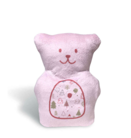 Béké Bobo Ourson thérapeutique - Rose bébé