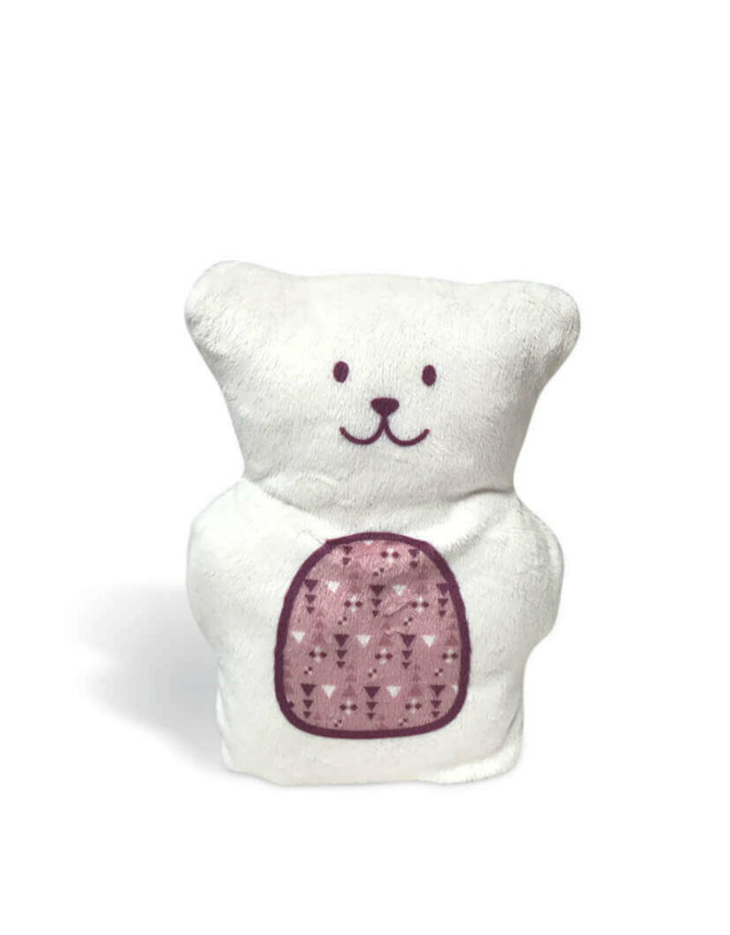 Béké Bobo Therapeutic bear - Beige and antique pink