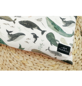maovic Oreiller pour enfant - Écales de sarrasin - Baleine