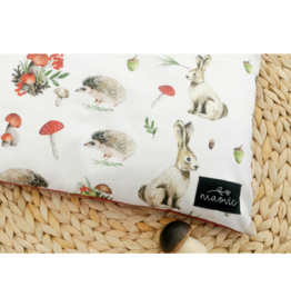 maovic Pillow for babies - Organic Buckwheat - Mushroom