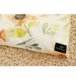 maovic Oreiller pour enfant - Écales de sarrasin - Fleur jaune