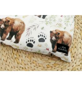 maovic Oreiller pour enfant - Écales de sarrasin - Ours
