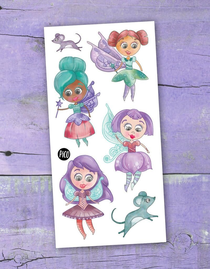 Pico Temporary tattoos - Fairies