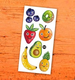 Pico Temporary tattoos - Fruits