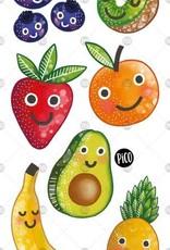 Pico Temporary tattoos - Fruits