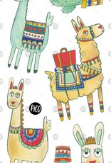 Pico Temporary tattoos - Noah the Alpaca