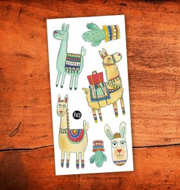 Pico Temporary tattoos - Noah the Alpaca